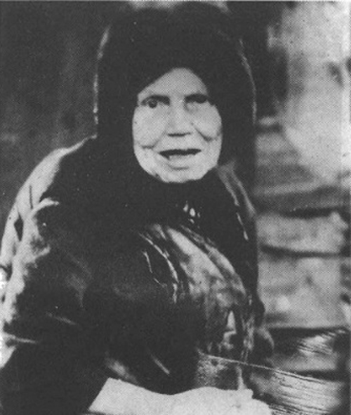 Матушка Алипия Голосеевская (Блаженная Алипия Киевская), Христа ради юродивая
