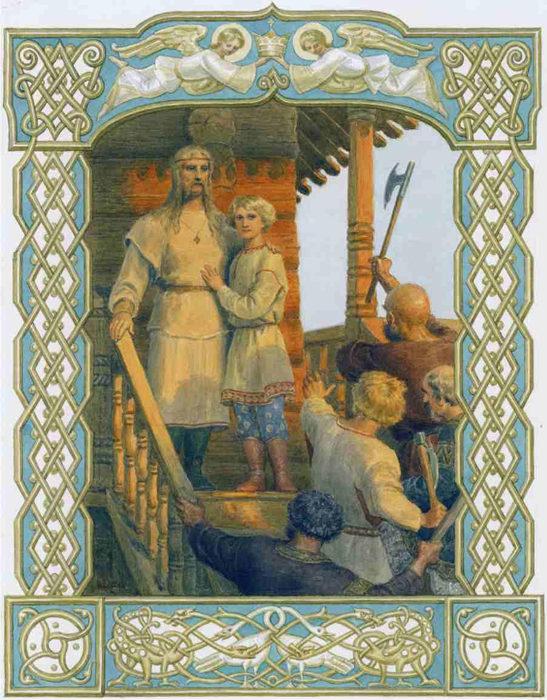 Феодор Варяг и сын его Иоанн (Х век) - первые святые мученики на Руси