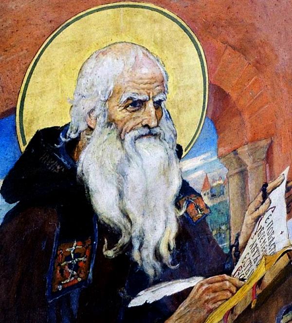Преподобний Нестор Літописець (1114). Перший руський історик