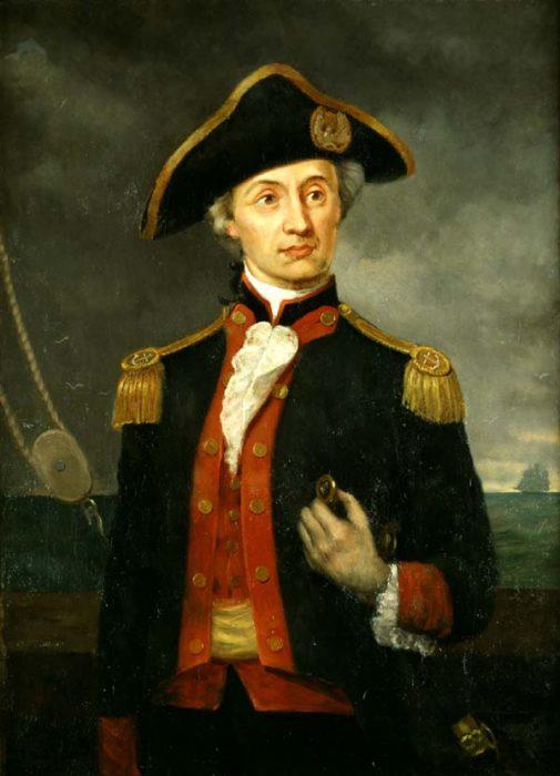 Джон Пол Джонс (1747-1792) – російський адмірал,запорізький козак, один із засновників ВМФ США
