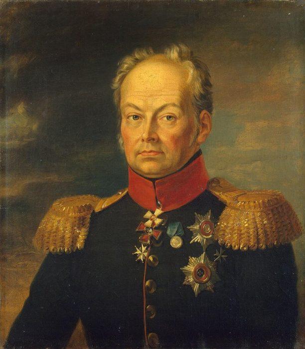 Генерал Іван Микитович Інзов (1768-1845). Головний попечитель іноземних колоністів Південної Росії