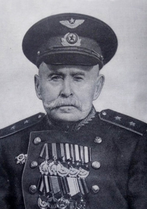 Олександр Олександрович Самійло (1869-1963). Генерал-лейтенант авіації. Професор